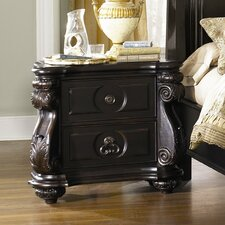 Vellasca 2 Drawer Nightstand