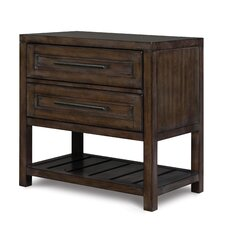 Eastlake 2 Drawer Nightstand