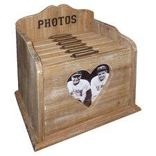 Heart Window Photo Filing Box