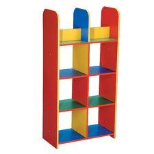 Block Coloured Modular Book Box Unit
