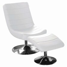 Lazza Easy Chair & Footstool Set