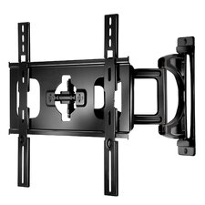 "Ultra-Slim Medium Articulating Wall Bracket for 32-46"" Screens in Gloss Black"