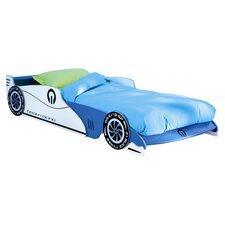 Blue Formula One Car Single Bed Frame