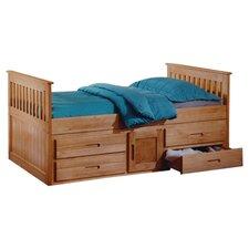 Captain Single Storage Bed Frame