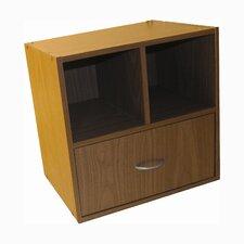 Cube 2 Shelf Storage Unit