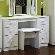 Aruner Kneehole Dressing Table