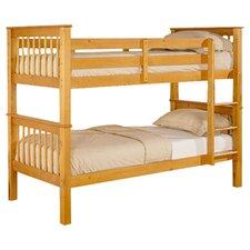 Cronstadt Sauvan Single Convertible Bunk Bed in Pine