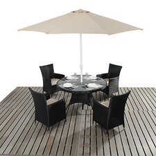Hamilton 6 Piece Round Dining Set