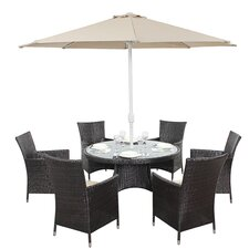 Riverton 8 Piece Round Dining Set