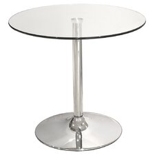 Bistro Table with Glass Top