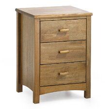 Eleanor 3 Drawer Bedside Table