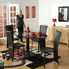Beane 5 Piece Oval Dining Set