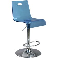 Adjustable Bar Stool with Step