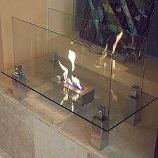 Fiero Free Standing Bio Ethanol Fuel Fireplace
