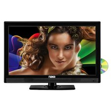 Naxa LED AC/DC Widescreen ATSC TV with DVD