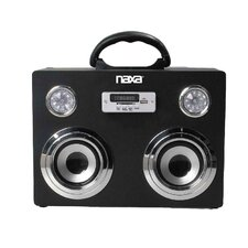 Naxa Portable Bluetooth Wireless Sound System and MP3 Player