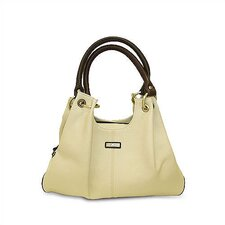 Virtue Casual Carrier in Cream with Chocolate