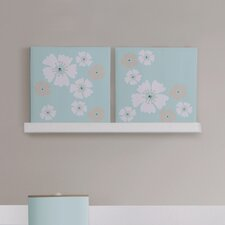 MiGi Fun Floral 2 Piece Wall Art