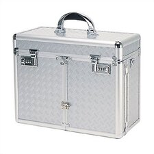 <strong>TZ Case</strong> Beauty Case with 2 Extendable Trays & Lid Brush Or Pencil Pockets
