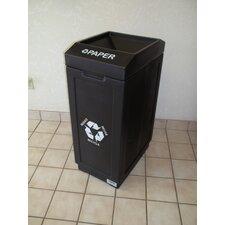 Open Top 39 Gallon Recycling Bin