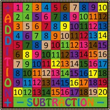 Addition and Subtraction Kids Rug