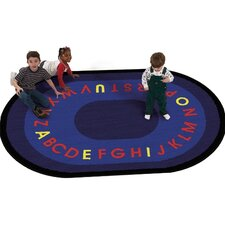 Educational Letters That Teach Kids Rug