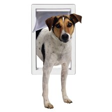 <strong>Perfect Pet by Ideal</strong> Small Pet Door with Telescoping Frame