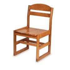 """Bennett Senior 18"""" Beechwood  Classroom Sled Chair"""