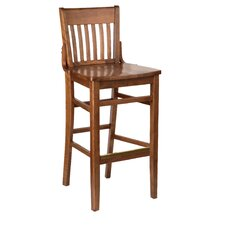 "Henry Walnut Bar Stool (24"" - 30"" Seats)"