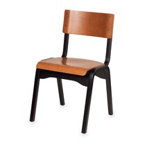 Carlo Stacking Classroom Chair in Beachwood