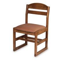"Bennett 18"" Beechwood  Classroom Sled Chair"