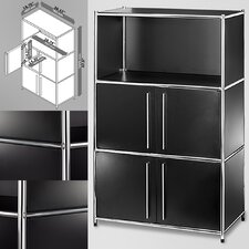 System4 Simpli 3 Compartment Bookcase