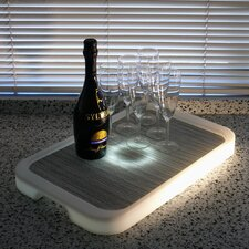 <strong>Infinita Corporation</strong> Imagilights LED Tron Rectangular Serving Tray