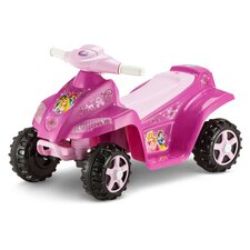 Princess OPP Toddler Quad 6V Battery Powered ATV
