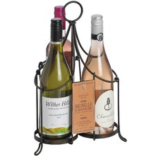 Rustic 3 Bottle Wine Carrier