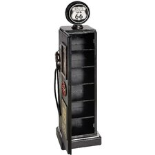 Gas Pump Shape CD Storage Cabinet
