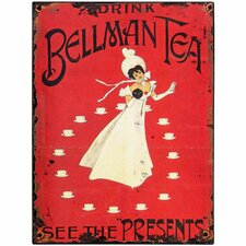 Bellman Tea Tin Sign