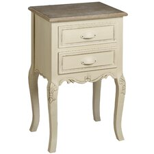 Country 2 Drawer Bedside Table