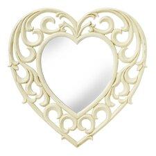 Amelia Heart Wall Mirror