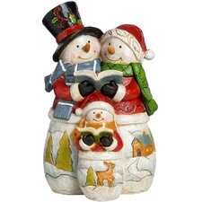 Snowman Choir Family Christmas Decoration