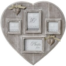 Heart 4 Way Photo Frame