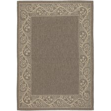 Five Seasons Tuscana Brown/Cream Indoor/Outdoor Rug