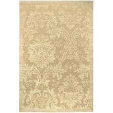 Impressions Antique Damask Floral Rug