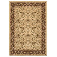 Pera Birjand Latte/Chocolate Rug