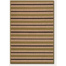 Urbane Light Rail Tan/Chocolate Rug