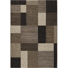 Everest Brown Geometrics Area Rug