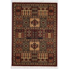 Kashimar Antique Nain Burgundy Rug