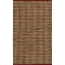 Natures Elements Fire Crimson Area Rug