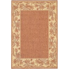 Recife Island Retreat TerraCotta/Natural Indoor/Outdoor Rug