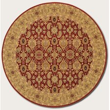 <strong>Couristan</strong> Royal Kashimar All Over Vase Red Rug